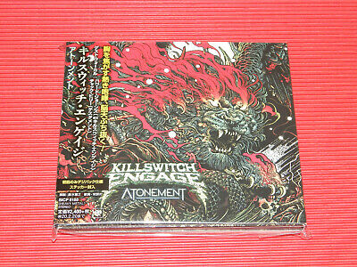 2019 Killswitch Engage Atonement Japan Digipak Cd With Sticker