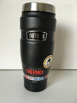 THERMOS STAINLESS KING Travel Tumbler Leak Proof Vacuum