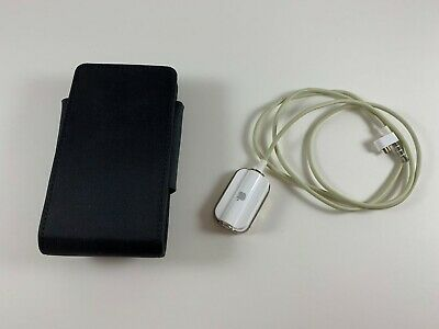 Apple iPod wired remote control clip Model A1018 and black case belt clip