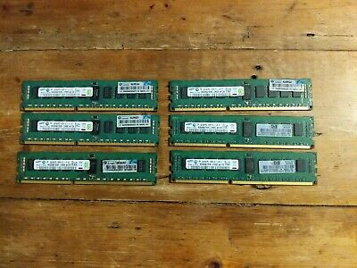 12GB (6x 2GB) DDR3 Registered Server RAM PC3-10600R
