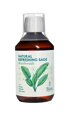 Natural, Fluoride-Free Herbal Mouthwash 250ml | Bion