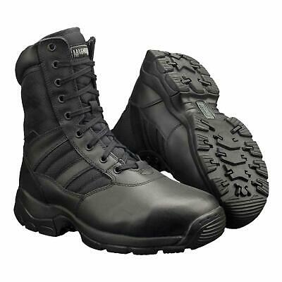 Magnum Lynx 8.0 Side Zip Army Tactical Patrol Boot Police Security Forces Black