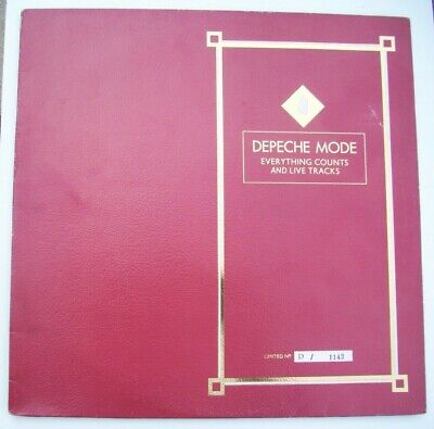 "Depeche Mode Everything Counts 12"" Vinyl Single  Limited Edition Numbered 1143"