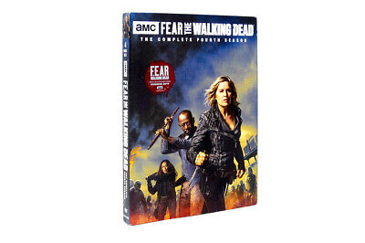 Fear the Walking Dead Season 4 4DVD  Free Shipping.