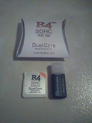 2019 R4 SDHC Revolution for DS/3DS with Micro SD to USB Adapter