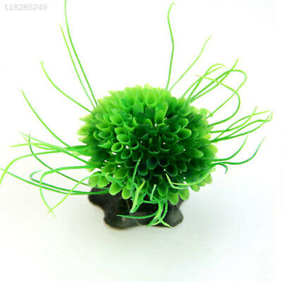 9FA5 Decor Aquarium Green Ornamental Water Grass Plant Plastic Fish Tank