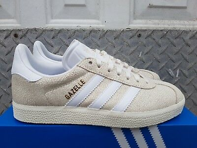 Details about Adidas Originals GAZELLE BEIGE OFF WHITE SHOES SNEAKERS TRAINERS RETRO B41655