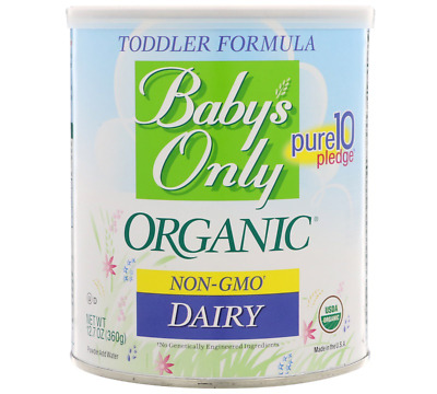 NATURE'S ONE BABYS ONLY TODDLER FORMULA-NON GMO DAIRY-12.7oz-*NEW*SEALED