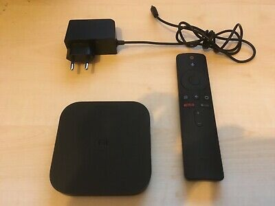 Xiaomi Mi Box S - 4K Ultra HD Youtube Twitch Netflix Android TV Box