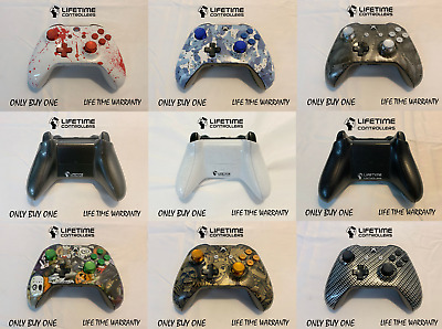 CUSTOM - XBOX ONE S WIRELESS CONTROLLER Bluetooth W/ 3.5 Jack LIFETIME WARRANTY
