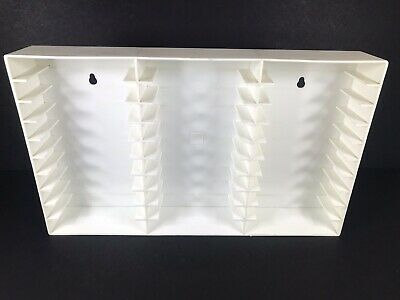 Music Audio Cassette Wall Hanging Holder Tapes Storage Display Holds 30 Cases