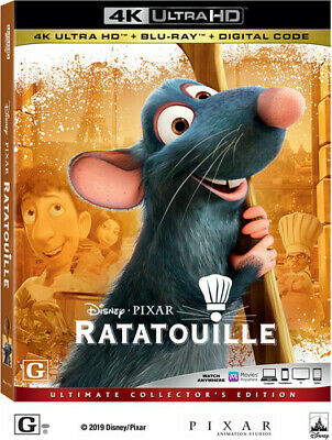 Ratatouille [New 4K Ultra HD] With Blu-Ray, 4K Mastering, Ac-3/Dolby Digital,