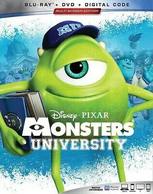 Monsters University [New Blu-ray] With DVD, 3 Pack, Ac-3/Dolby Digital, Digita