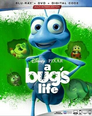 A Bug's Life [New Blu-ray] With DVD, 2 Pack, Ac-3/Dolby Digital, Digital Copy,