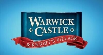 2 X WARWICK CASTLE Tickets for Tuesday 10th September 2019