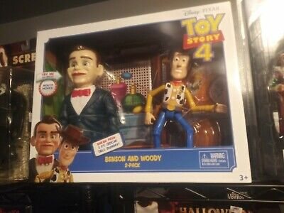 Toy Story 4 Benson and Woody Figures 2 Pack New Disney Pixar Action Figures