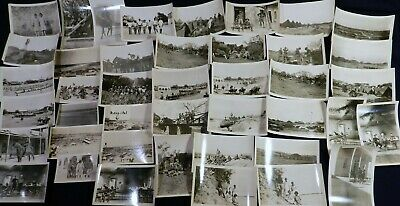 Vtg 1910s US Mexico Border PHOTO Snapshots Fort Ringgold Texas 13th Cavalry Camp