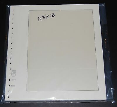 Lindner T-Blank pages #103 lot of 18 gently used - 1 pocket - clean!