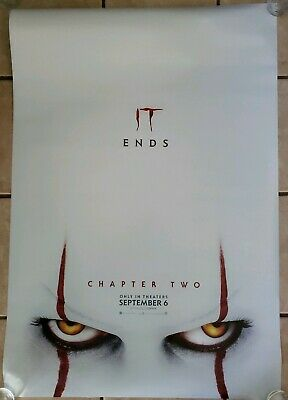 It Chapter Two 2 27x40 Double Sided Movie Theater Poster Version B Stephen King