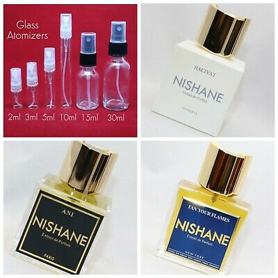 Nishane Fan Your Flames Eau De Parfum SAMPLE 1ml 2ml 3ml 5ml 10ml Glass Spray