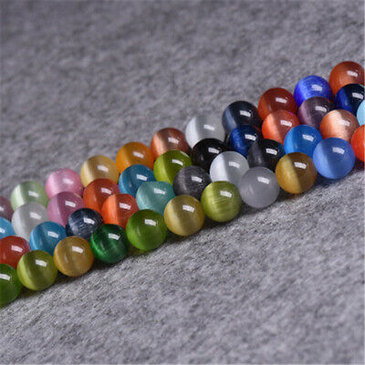 4-12mm Colorful Opal Beads Diy Accessories Spacer Handmade Charm Top