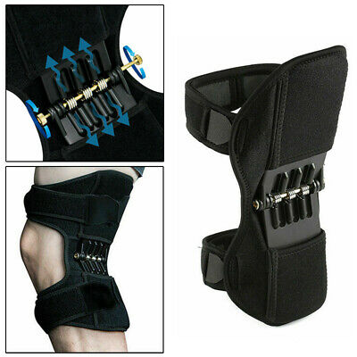 Patella Booster Spring Double-Hinged Knee Brace Support Mountaineering Squat UK