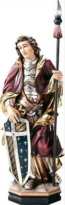 Statue Wholesale st Arnoldo cm 20 Carved Wooden of Valgardena Decorated by Hand
