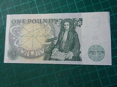£1 One Pound Bank Of England Note With Dhf Somerset Signature - Dx65 119987