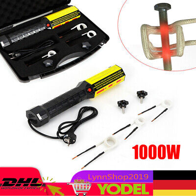 Mini Ductor Magnetic Induction Heater Kit For Automotive Flameless Heat 1000W