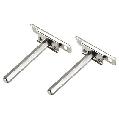 Floating Shelf Invisible Support Bracket Hex Shank 91mm Wall Support Set 2 Pcs