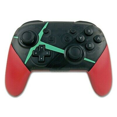 Wireless Bluetooth Pro Controller for Nintendo Switch Gamepad+USB Cable Red