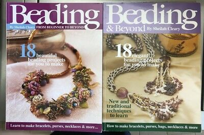 Beading from Beginner to Beyond by Sheilah Cleary Beads Jewellery Craft