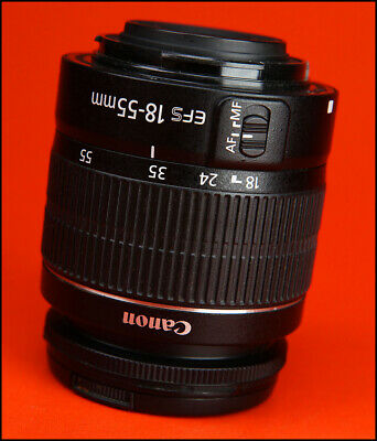 Canon EF-S 18-55mm III F3.5-5.6 AF  Zoom Lens 4 EOS DSLRs Sold With Front Cap