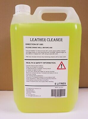 Leather Cleaner conditioner restorer leather car seats, sofa, hide food 5l