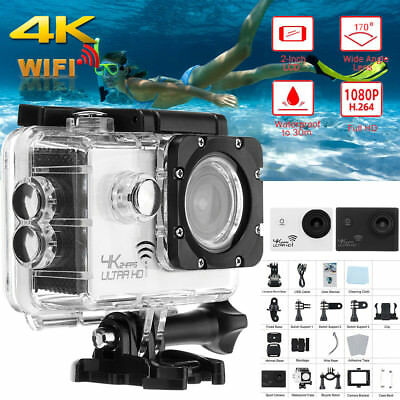 4K 16MP Ultra 1080P HD Pro Wifi Sport Action Camera DVR DV Camcorder