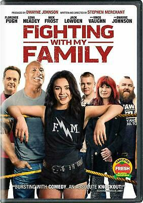 Fighting With My Family 2019 DVD. New and sealed. Free Postage!