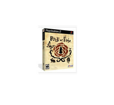 Rule Of Rose PS2 Playstation 2 - DVD Box Case + Cover Art Work No Game