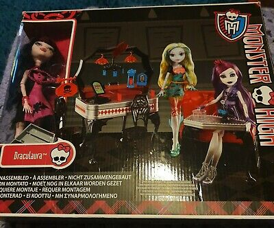 Monster High Doll & Playset with Sofa x