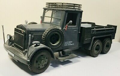 Indiana Jones Raiders Of The Lost Ark Military Army Truck Model Hasbro 2007