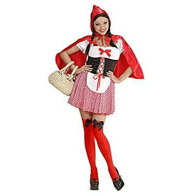 (TG. Large) WIDMANN 70573 - Costume 'Red Capelet' in Taglia L - NUOVO