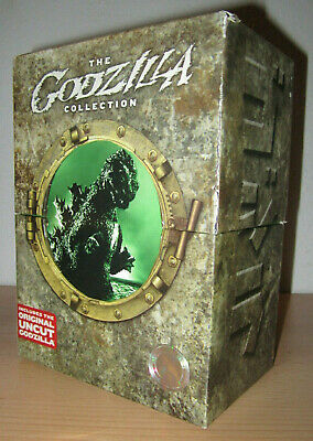 GODZILLA TOHO MASTER COLLECTION (8-DVD First Print Box Set 2007) Region 1 OOP