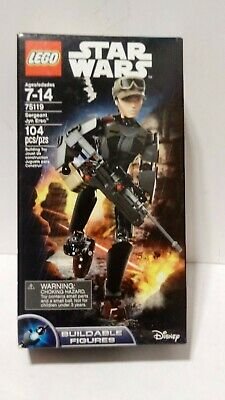 Lego star wars box 75119 buildable action figure Disney sergeant jyn erson