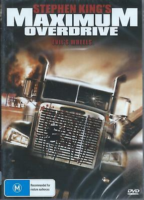 Stephen King's Maximum Overdrive .evil's Wheel . New And Sealed