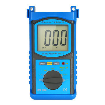 LCD backlight Digital Insulation Resistance Tester Megohm Megger Meter Tool N4V3
