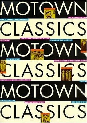 Motown Classics (Piano Vocal Guitar) by #value! Book The Cheap Fast Free Post