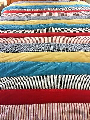 "Rare Super Cute Pottery Barn Kids Dr Suess Quilt  68"" X 89"""