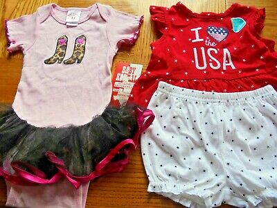 New Size 18 months Outfits  Carter's & Baby Korral Western