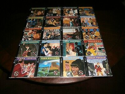 Glory Days Of Rock 'N' Roll Complete Set (40 CD Box Set With 600 Tr) Time Life