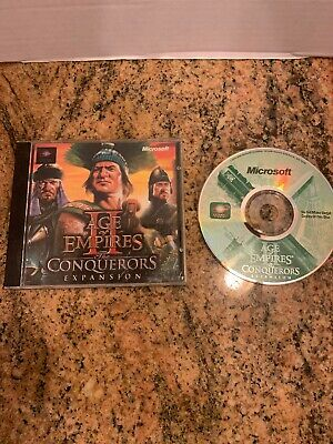 AGE OF EMPIRES 2 II the Conquerors Expansion PC CD Big Box