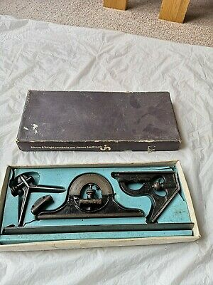 Vintage Moore and wright combination set 990PME 12